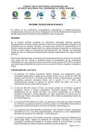 Informe Técnico ENFEN, julio - 2012 - Imarpe