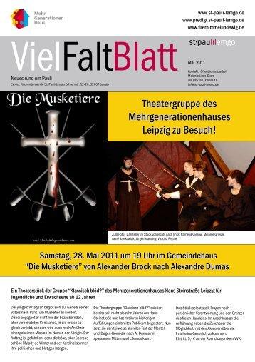 VielFaltBlatt-Mai-2011 - St-Pauli-Lemgo