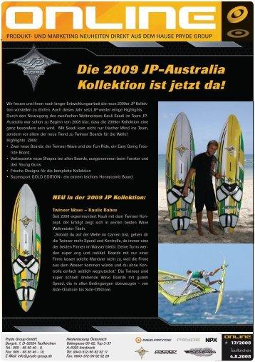Die 2009 JP-Australia Kollektion ist jetzt da!