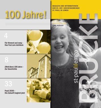 100 Jahre! - St-Pauli-Lemgo