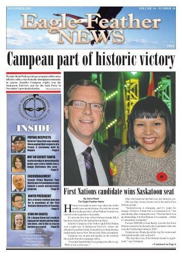 November 2011 - Eagle Feather News