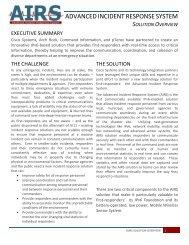 Advanced Incident Response System - IPv6 Task Force