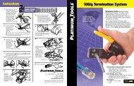 10Gig Termination System - Platinum Tools