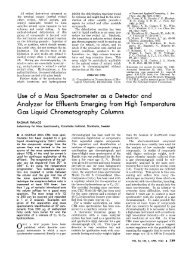 of a Mass Spectrometer as a Detector and - Scripps Center for ...