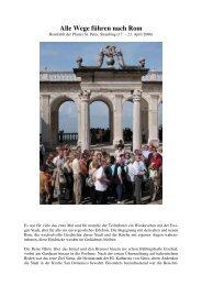 Alle Wege führen nach Rom - der Pfarrei St. Peter in Straubing
