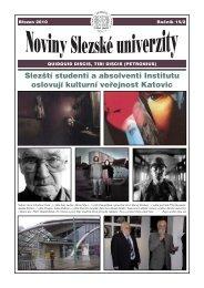 Březen - Slezská univerzita v Opavě