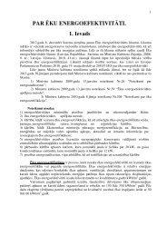 Energoefektivitātes aprēķins - RCK LV