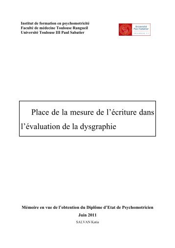 analyse pratique - Institut de Formation en Psychomotricité de ...