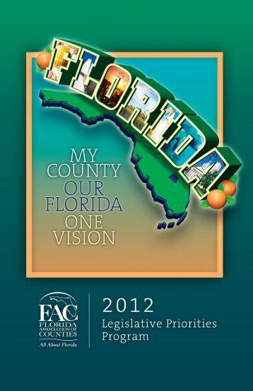 2012 Legislative Priorities - Florida Association of Counties