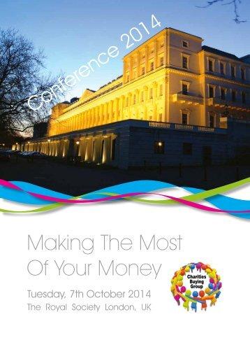 CBG Conference 2014 Brochure