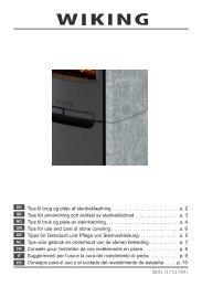 08.05.13 / 53-7041 Tips til brug og pleje af stenbeklædning ... - Wiking