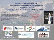 Slides part 1 - Fondation Nanosciences
