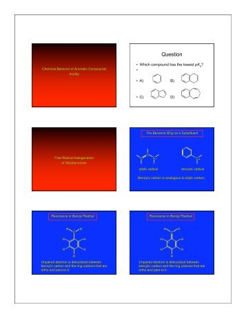 Aromatic Reactions .pdf - ChemConnections