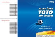 Systembroschuere 122011 - LOTTO Bayern