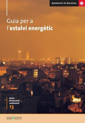 Guia per a l'estalvi energètic - Ajuntament de Barcelona