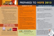 prepared to vote 2012 - NAACP Legal Defense and Educational ...