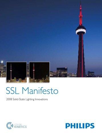 SSL Manifesto - Mark Herring Lighting
