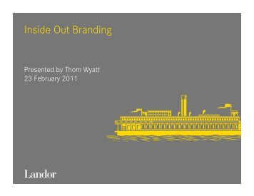 Download Landor brochure - Landor Associates