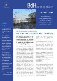 Ausgabe 3 - BdH Newsletter S1.indd - Betriebswirte HWK eV