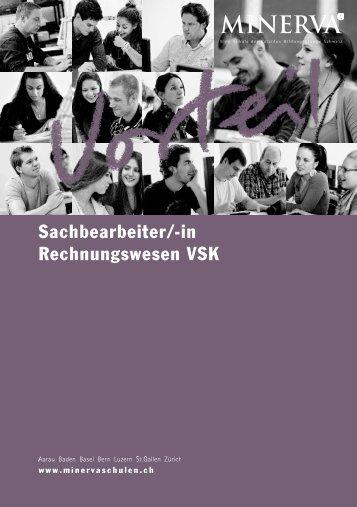 Sachbearbeiter/-in Rechnungswesen VSK - Minerva