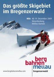 Das größte Skigebiet im Bregenzerwald