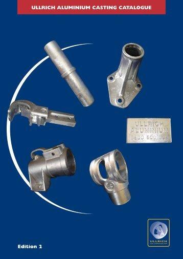 Castings Catalogue - Ullrich Aluminium