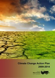 Climate Change Action Plan 2009-2014 - City of West Torrens