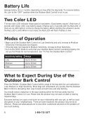 Outdoor Bark Control - PetSafe - Page 6