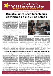 Ministro lança rede tecnológica vitivinícola no dia ... - Adão Villaverde
