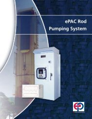ePAC Rod Pumping System - eProduction Solutions