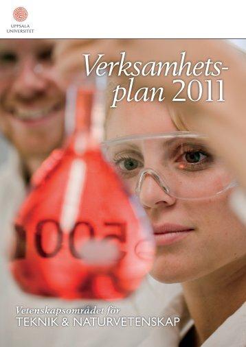 Verksamhetsplan 2011 - Teknisk-naturvetenskapliga fakulteten ...