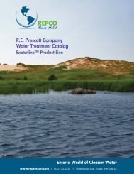 R.E. Prescott Company Water Treatment Catalog