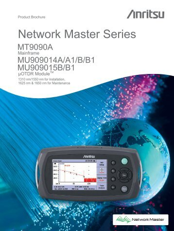 Product Brochure Network Master Series