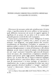 Ventura D., Potere e spazio urbano nella società medievale