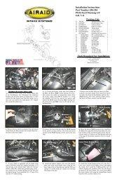 AIRAID Air Intake System Retro kit for 200-102 96-99 C//K 1500 2500 Tahoe Yukon