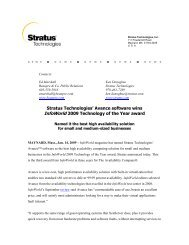 Avance software wins InfoWorld 2009 Technology of the Year award