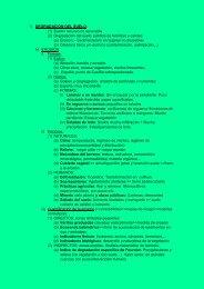 1) DEGRADACIÓN DEL SUELO: (1) Suelo= recurso no renovable (2 ...