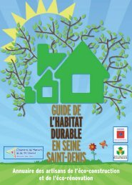 Guide de l'habitat durable en Seine-st-Denis - Ademe Ile de France