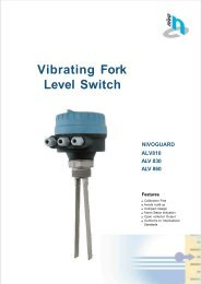 Vibrating Fork Level Switch