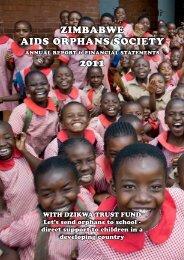 ZIMBABWE AIDS ORPHANS SOCIETY - Zimbabwen Aids-Orvot ry