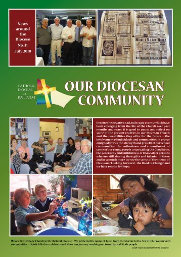 COMMUNITY OUR DIOCESAN - Catholic Diocese of Ballarat ...