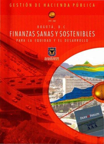 finanzas sanas y sostenibles - Instituto de Estudios Urbanos