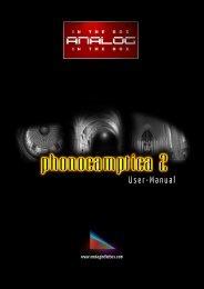 Phonocamptica2 - Manual - Analog In The Box