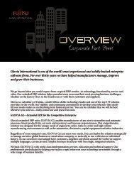 Company Datasheet - Glovia International, Inc.