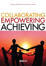Collaborating, Empowering, Achieving - Gender Climate