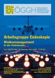 Arbeitsgruppe Endoskopie