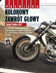 Kolorowy zawrót gŁowy - Świat Motocykli