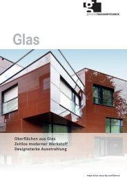 Oberflächen aus Glas Zeitlos moderner Werkstoff Designstarke ...