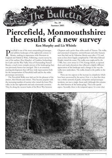 Bulletin 39 - the Welsh Historic Gardens Trust (WHGT)