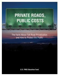 Download Private-Roads-Public-Costs.pdf - Frontier Group